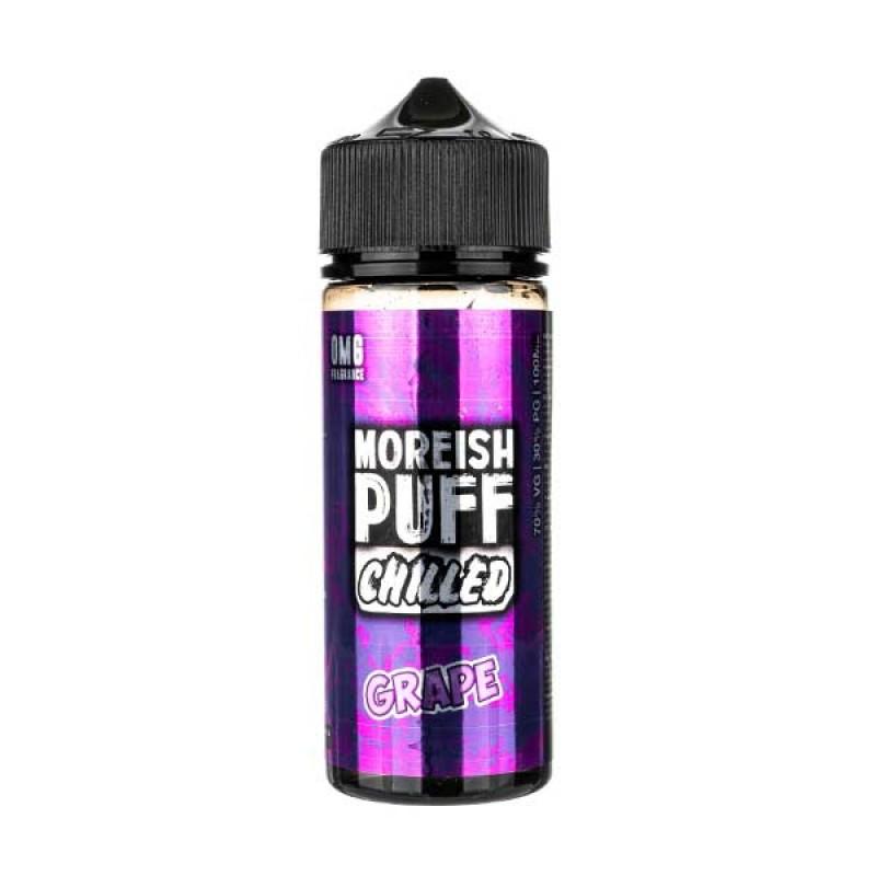 Chilled Grape Shortfill E-Liquid by Moreish Puff