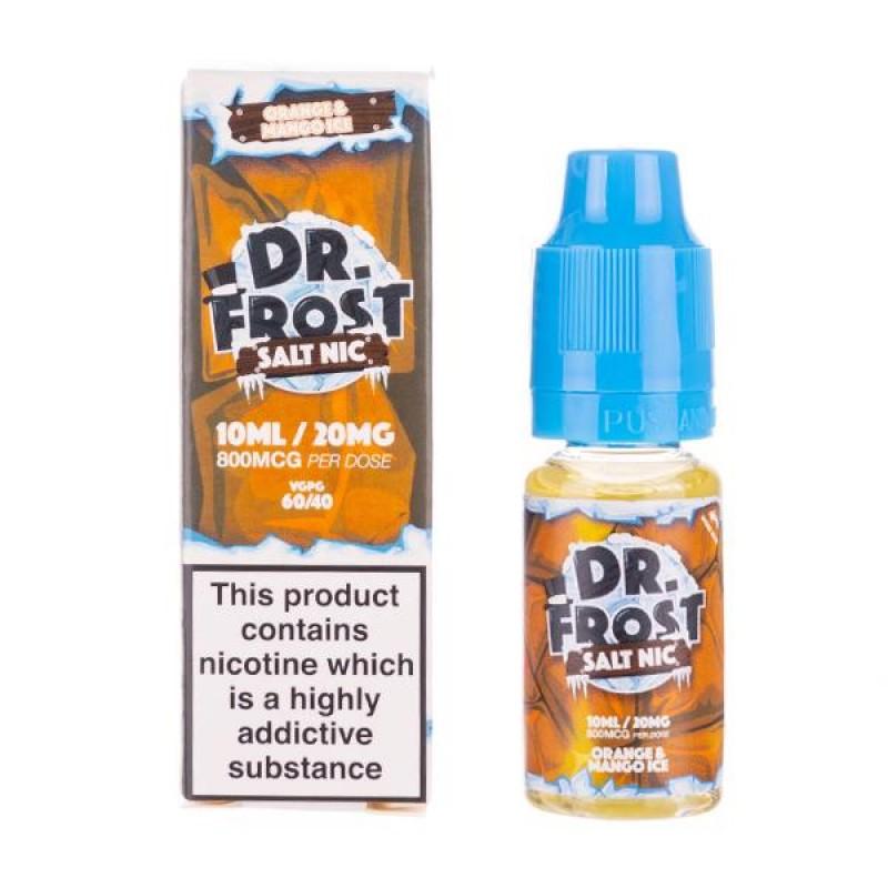 Orange Mango Ice Nic Salt E-Liquid by Dr Frost