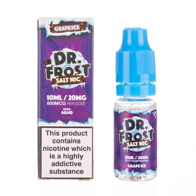 Grape Ice Nic Salt E-Liquid by Dr Frost