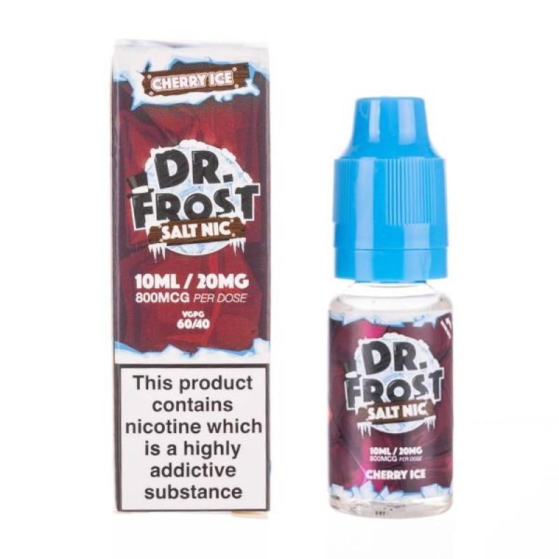 Cherry Ice Nic Salt E-Liquid by Dr Frost