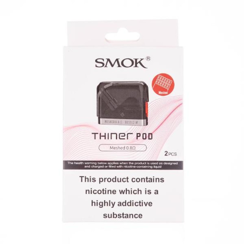 Thiner Replacement Pods by SMOK