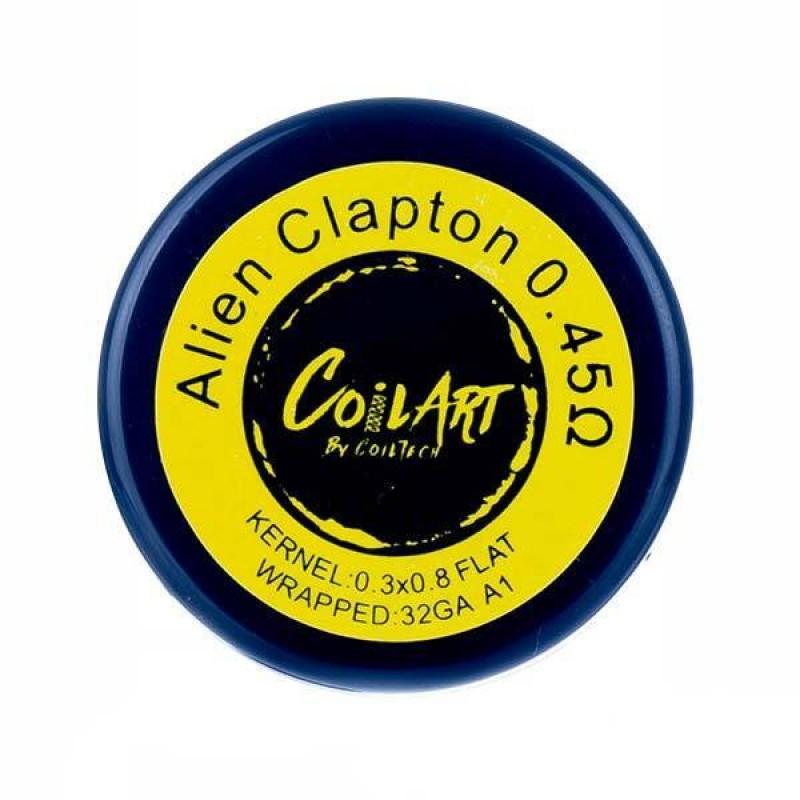 0.45ohm Premade Alien Clapton Coils by CoilArt