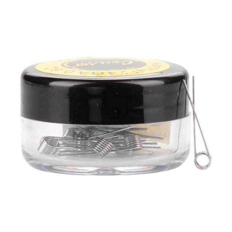 0.6ohm Premade Kanthal 24G Coils by CoilArt